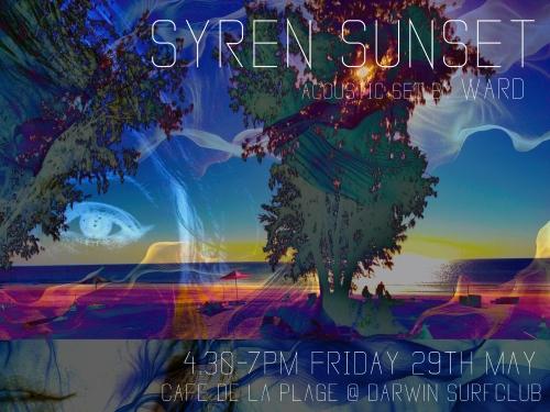 SYREN SUNSET GIG POSTER 2